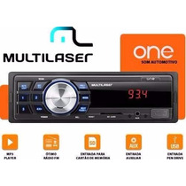 Mp3 Player Automotivo Multilaser One P3213 Usb Sd Radio Fm