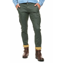 Exclusivo Pantalon Dockers Cargo Verde Militar 32 33 34
