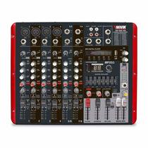 Consola Mixer Potenciada Novik Neo Nvk 800p Usb