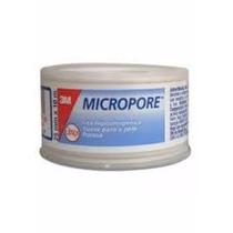 Fita Micropore Branca 25x10 3m Cáixa C/ 6 Un.