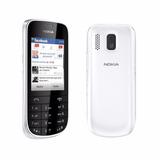 Nokia Asha 202 Branco 2 Chips 2mpx Rádio Fm Mp3 Tela 2,4