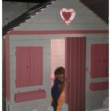 Escaparate Closet Armario Infantil Tipo Casita En Madera