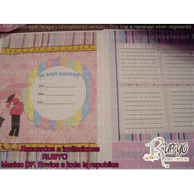 Libro De Firmas Para Baby Shower Personalizado