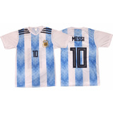 Camiseta Argentina Infantil Niño Mundial 2018 Remera Afa