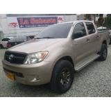 Excelente Toyota Hilux, 2007,doble Cabina,diesel,2500cc