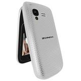 Zonda Flip Zm120 Camara+mp3+radio Fm+doble Sim Color Blanco