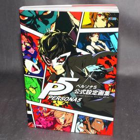 Persona 5 Official Setting Artbook Design Works - Em Estoque
