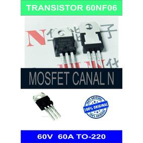 60nf06 60n06 Mosfet Transistor 60a 60v Original To-220