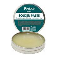 Pasta Para Soldar Con Soldador De Estaño Proskit Electronica