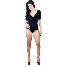 Faja Body Elegance Seduction Con Mangas Talla M Blanca