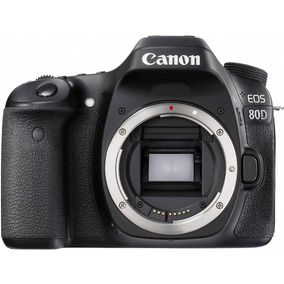 Câmera Canon Dslr Eos 80d Corpo - 24,2mp - Full Hd - Wifi