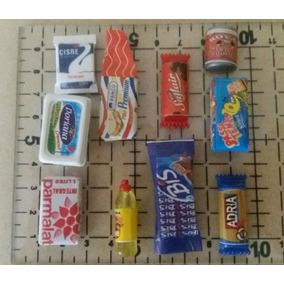 Miniaturas De Alimentos E Higiene