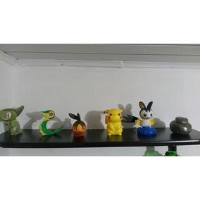 Kit Pokemon Miniaturas 6 Peças