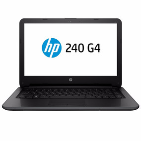 Notebook Hp 240g4 Preto Intel Core I3 4gb/500gb/14