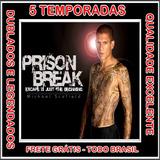 Prison Break 1ª Até 5ª Temporada Serie + Filme Frete Grátis