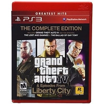 Grand Theft Auto Iv Complete Edition Ps3 Nuevo Entrega Inmed