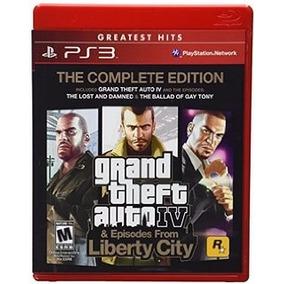 Grand Theft Auto Iv Complete Edition Ps3 Nuevo Entrega Inmed