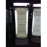 Nevera Congelador Vertical Vidrio Curvo