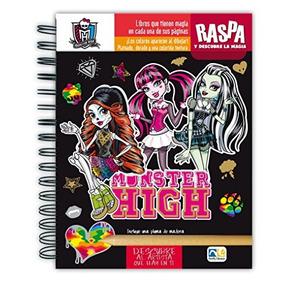 Libro Descubre, Dibuja Y Diviértete Monster High - Nuevo