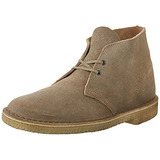 Botas Clarks Hombre Desert Taupe Suede