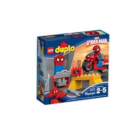 El Taller De La Moto Araña De Spider-man Lego - 10607