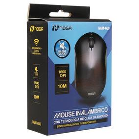 Mouse Inalambrico Bluetooth Click Silencioso 1600dpi Ngm650