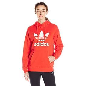 Moletom Adidas Feminino Originals - Moletom no Mercado Livre Brasil 9f022540fc5
