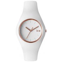 Reloj Ice Watch Glam Blanco Rose Gold 43mm Ice.gl.wrg.u.s.14