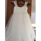Vestido Daminha De Casamento Noiva Dama De Honra Evento