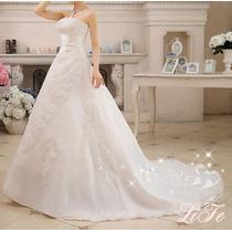 Vestido Noiva Lindo Casamento Pronta Entrega