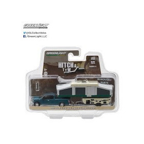 Greenlight 1:64 Hitch & Tow Serie 8, Ford F150 Y Camper