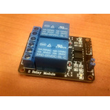 Modulo Relay De 2 Canales Rele Optoacoplado Para Arduino Pic