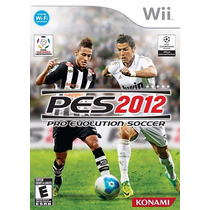 Pro Evolution Soccer 2012 / Pes 12 - Original - Nintendo Wii