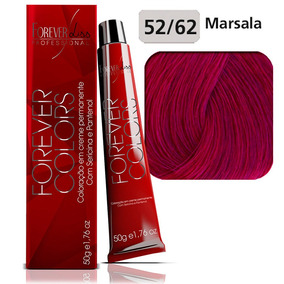 Coloraçao Forever Liss Colors 50g - 52.62 Marsalla