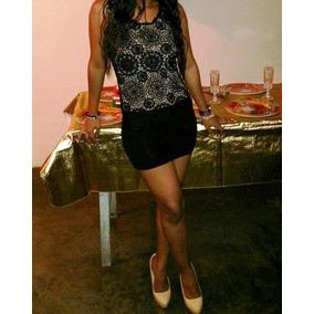 Libby Lu Vestido Tejido/crochet S-m