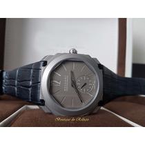Relógio Eta Valjoux Modelo Bvlgari Octo Finissimo Titânio
