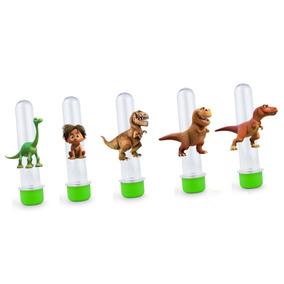 50 Tags Para Tubete O Bom Dinossauro Com 7,5cm