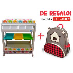 Bañera Con Cambiador Para Bebe Elefantes+ Regalo Skip Hop