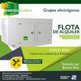 Alquiler De Grupos Electrogenos De 8 A 200 Kva