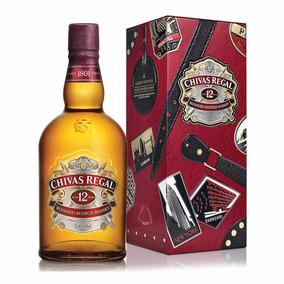 Whisky Chivas Regal 12 Años X 1 L. Con Est Lata Importado