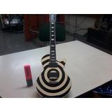 Guitarra Gibson / Les Paul Bull Eye /zakk Wilde Réplica