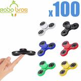Lot-100x-hand-spinner-tri-fidget-steel-ball-toy-edc-finge...