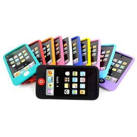 Silicon Para Ipod + Mica De Regalo Para Ipod Touch 4 Oferta