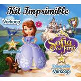 Kit Imprimible Princesa Sofia Primera + Candy Bar Fiestas