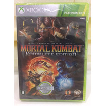 Jogo Mortal Kombat Komplete Edition Xbox 360 - Lacrado