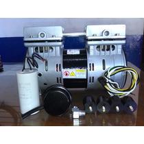 Cabezal Comp. Libre De Aceite 3/4 Hp. Compresores De Occte