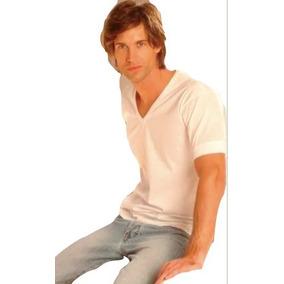 Camiseta Habanno Algodón Fino Escote V Hombre Art. 420