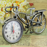 Reloj Bicicleta De Apariencia Metalica Adorno Cuarzo