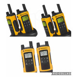 6 Rádios Motorola T400 Comunicador Talkabout Walk Talk 56km