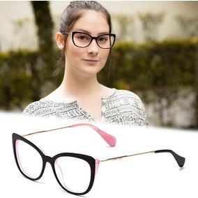 Oculos Sem Lente Feminino - Óculos De Grau Outras Marcas no Mercado ... c0b7fddbf7